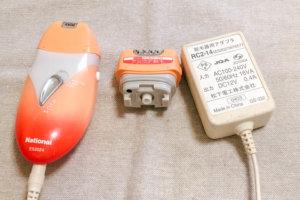 15年使っている脱毛器。Panasonic soie