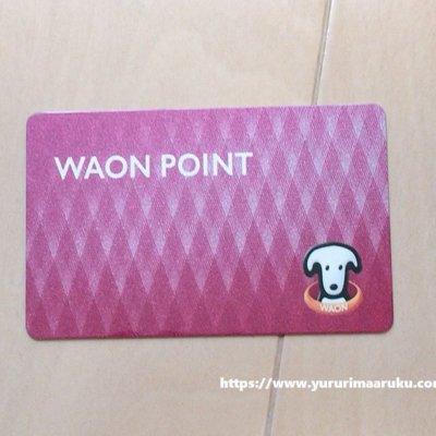 現金専用のWAONポイントカード